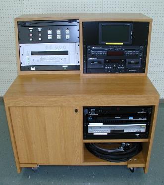 視聴覚室ワゴン卓