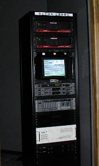 照明・音響制御架